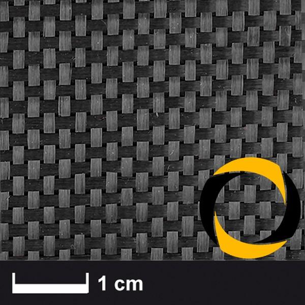 Kohlegewebe 200 g/m² (Aero, Leinwand) 100 cm